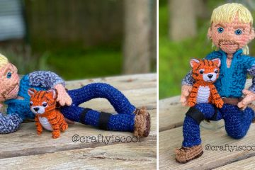 Crochet Joe Exotic Tiger King