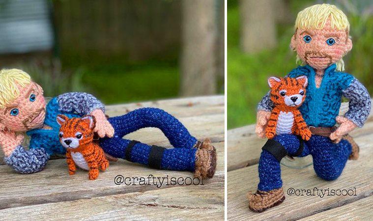 Crochet Joe Exotic Tiger King
