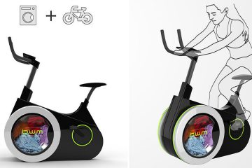 Exercise Bike Washing machine