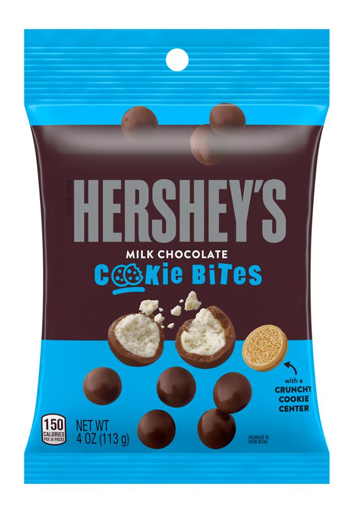 Hershey's Milk Chocolate Cookie Bites 4oz
