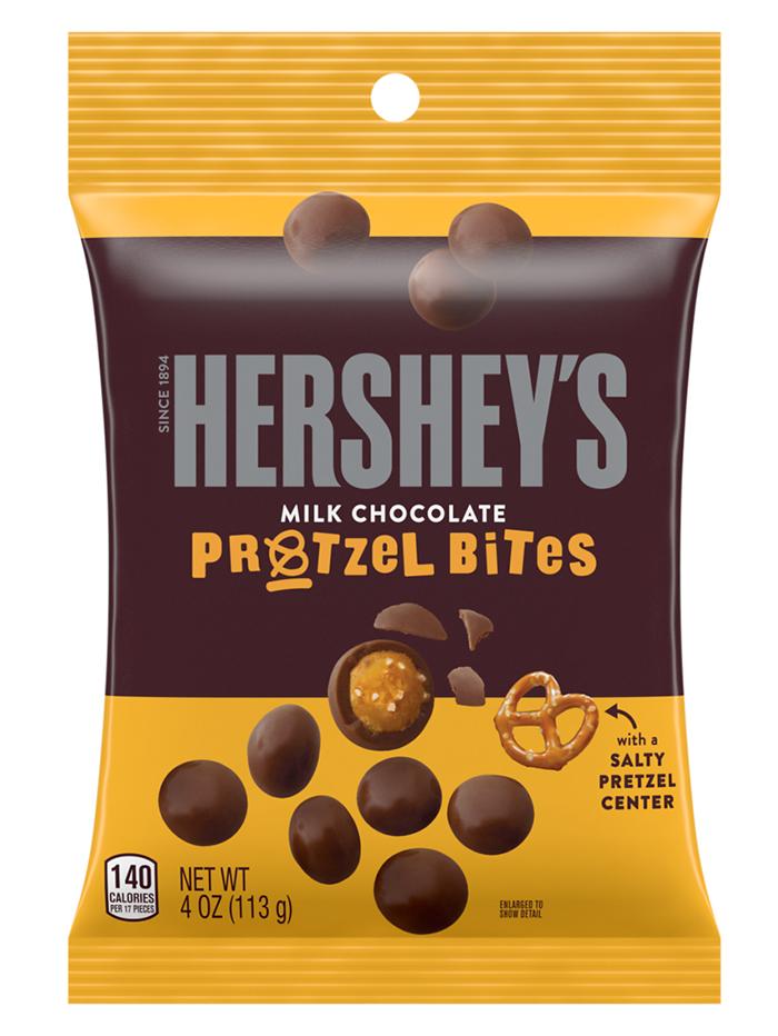 Hershey's Milk Chocolate Bites Pretzel 4oz