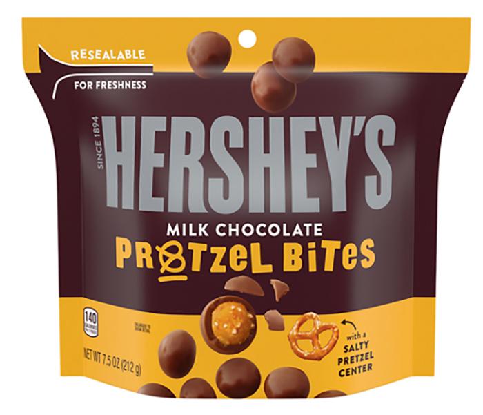 Hershey's Milk Chocolate Bites Pretzel 7.5oz