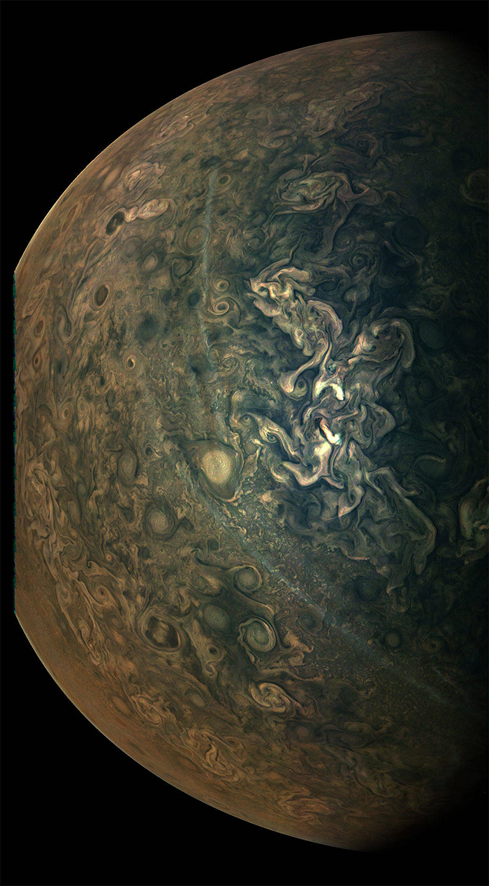 High Altitude Hazes on Jupiter Photo