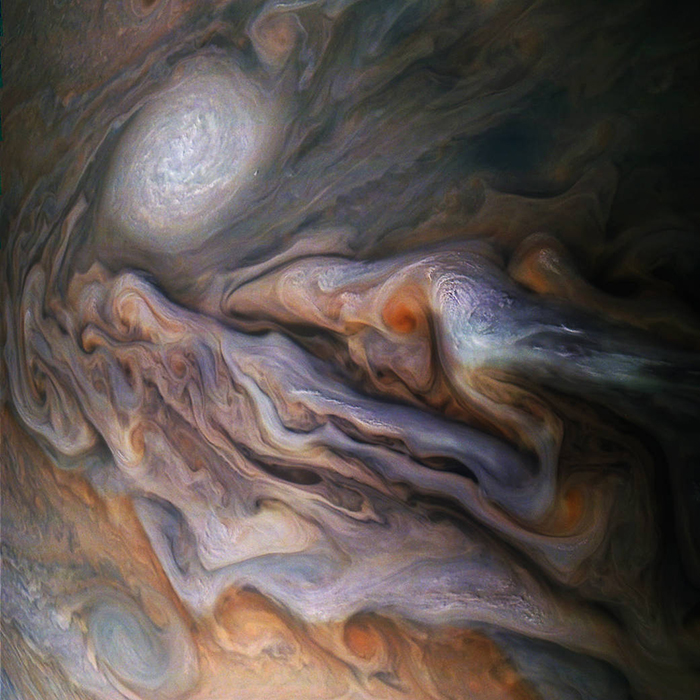 Juno Spacecraft Close Encounter with Jupiter Photo
