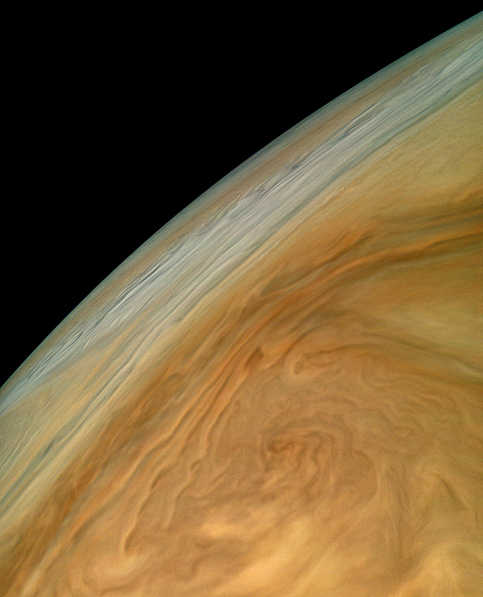 Jupiter North Equatorial Belt Photo