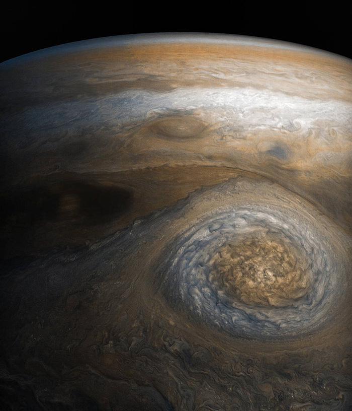 Jupiter Storm of the High North Photo