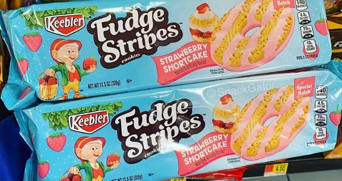 Keebler Fudge Stripes Strawberry Shortcake