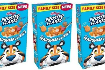 Kellogg's Frosted Flakes Marshmallows Cereal