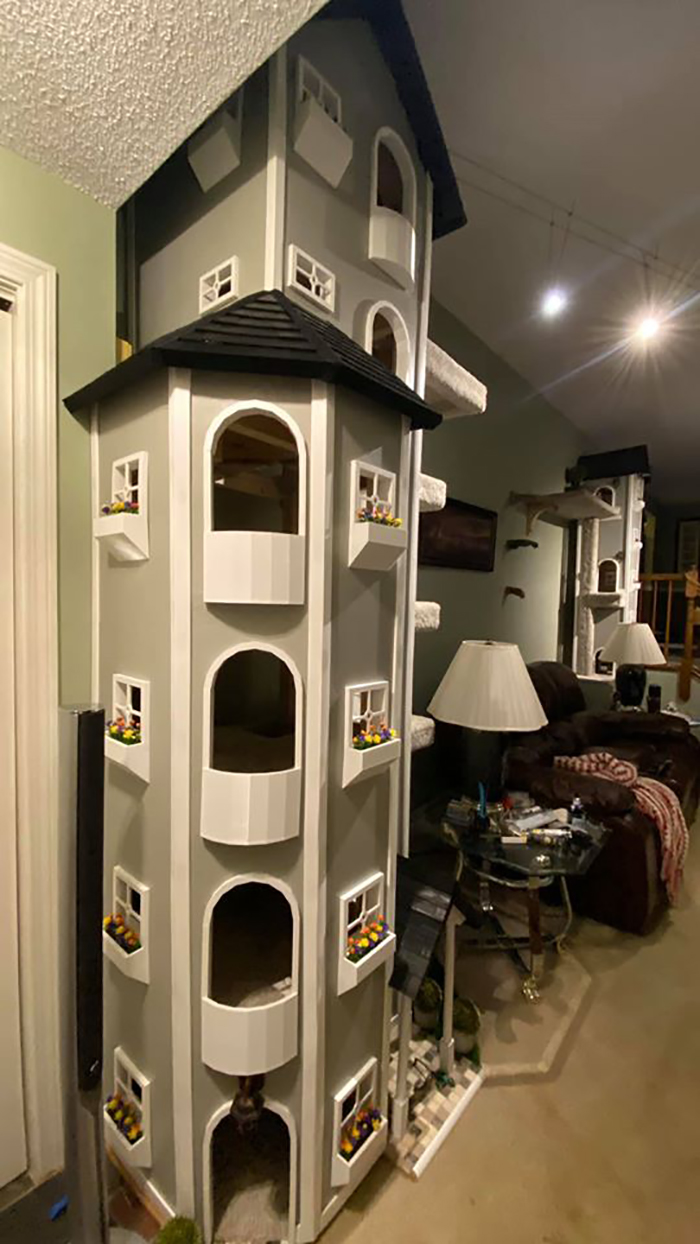 Kitty Towers Front View