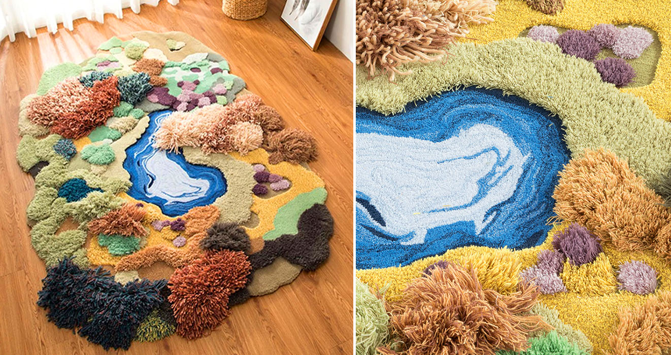 Rugs Resemble Diffe Landscapes