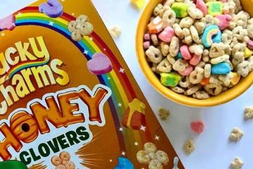 Lucky Charms Honey Clovers Cereal