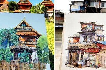 Qian Shi Sketches