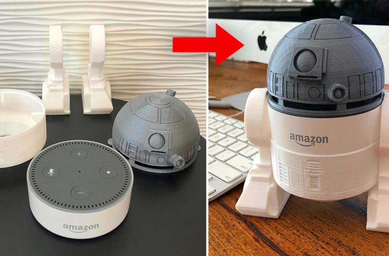 R2-D2 amazon Echo Dot
