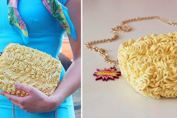 Ramen Noodle handbag