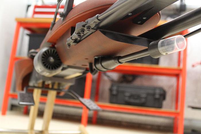 Rocking Speeder Bike Light-up Blaster Cannon