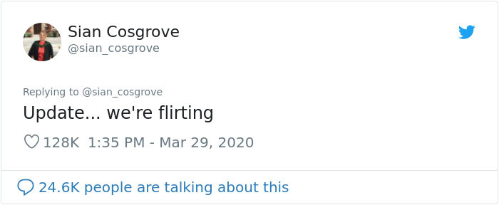 Sian Cosgrove Tweet