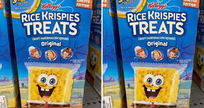 SpongeBob Rice Krispies