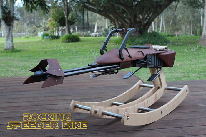 Star Wars Rocking Speeder Bike for Toddler