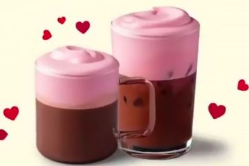 Starbucks' Pink Berry Hot Chocolate
