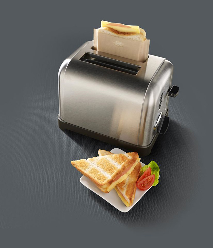 Toaster Bags for Making Grilled Cheese Sandwiches