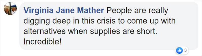 Virginia Jane Mather Facebook Comment