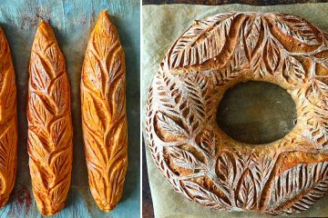 artistic bread designs