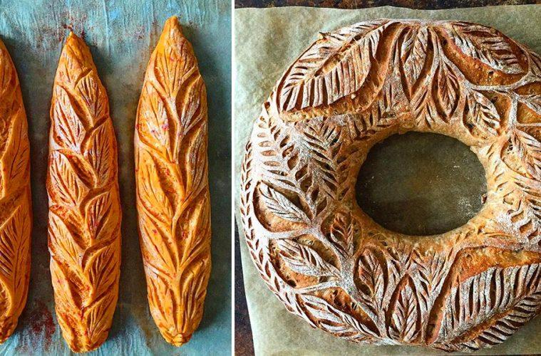 artistic bread designs