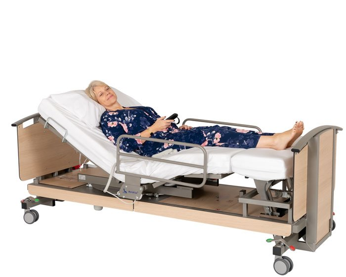 automatic rotating bed for elderly