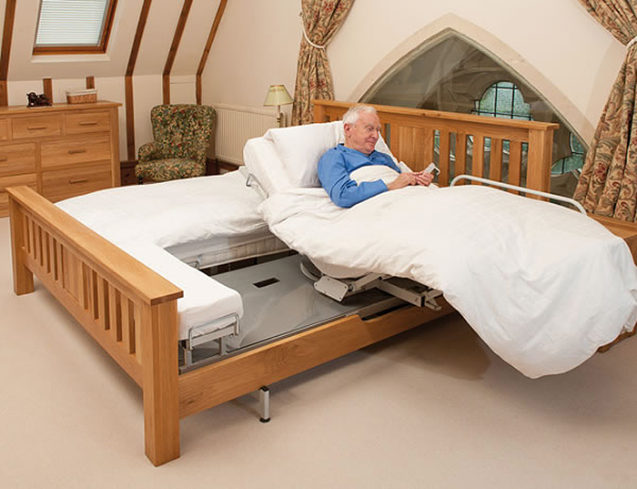 automatic rotating bed rotoflex