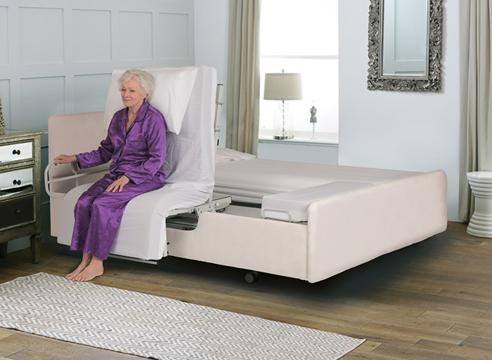 automatic rotating bed