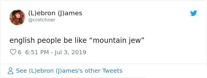 british accent mountian jew