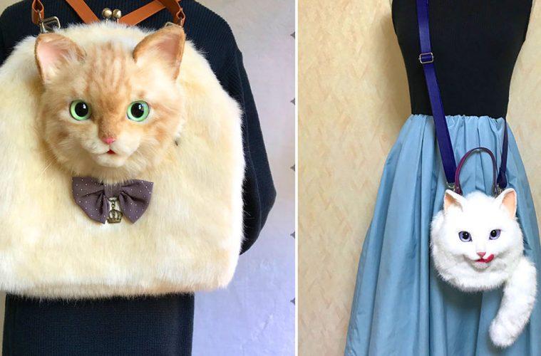 cat-shaped bags