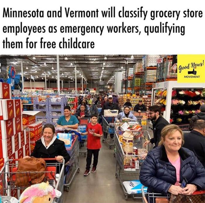 coronavirus wholesome stories store employees