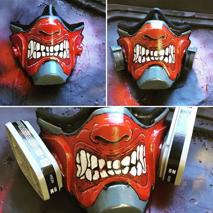 custom respirator