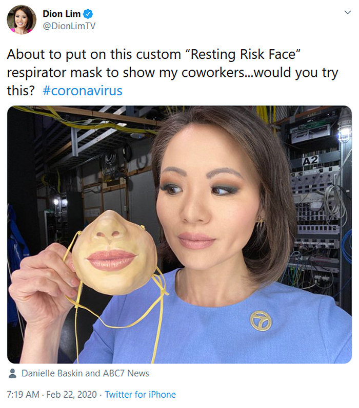 funny face mask designs realistic lips