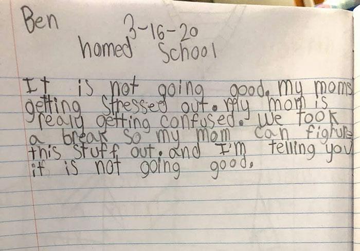 funny kids lockdown stories journal