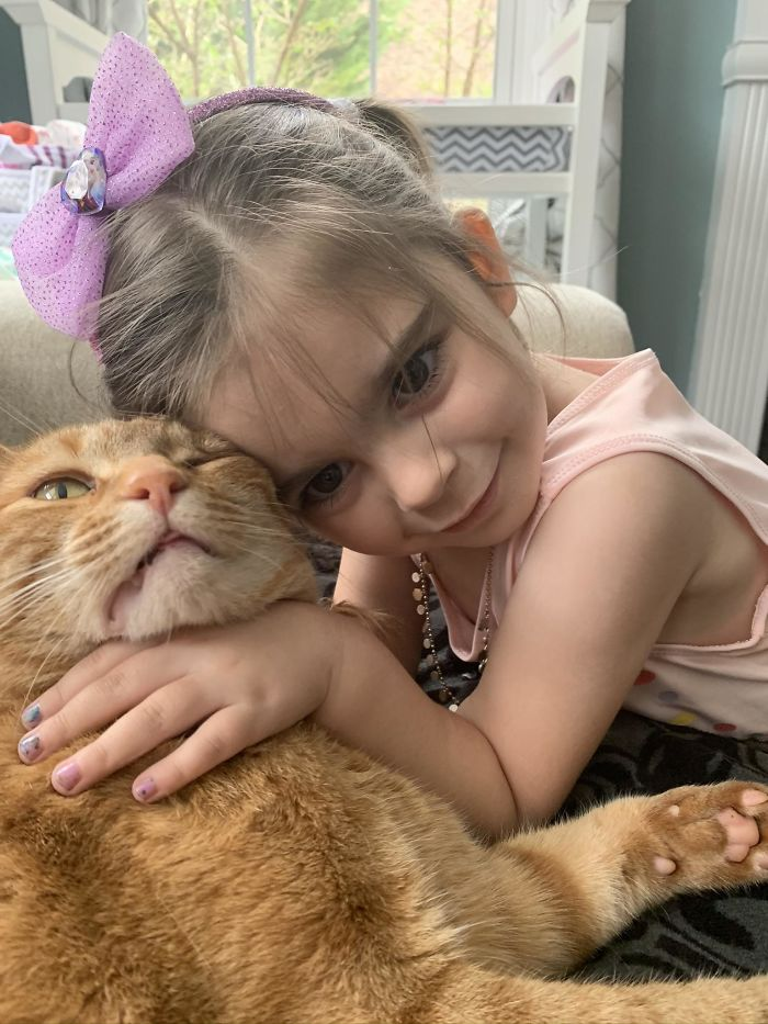 funny kids lockdown stories unhappy cat