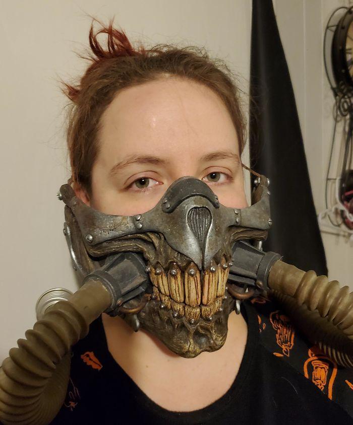 geeky creative respirator