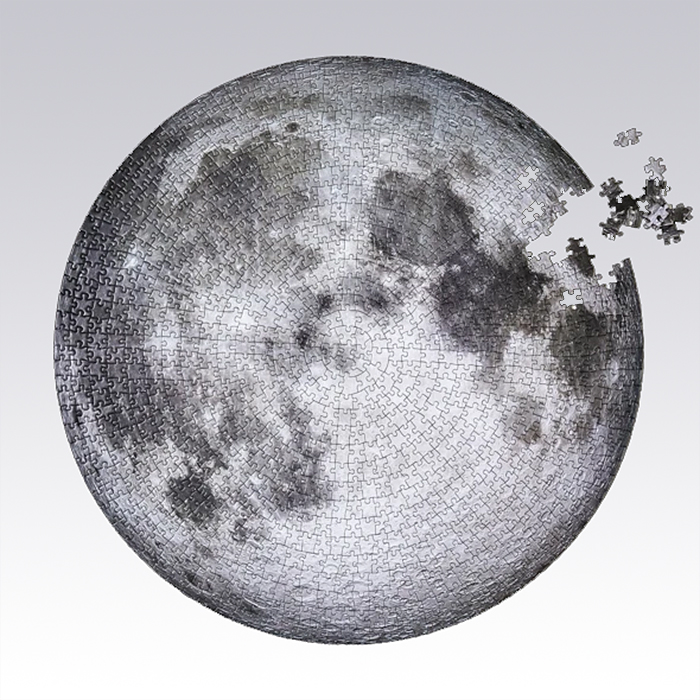 giant circular moon puzzle