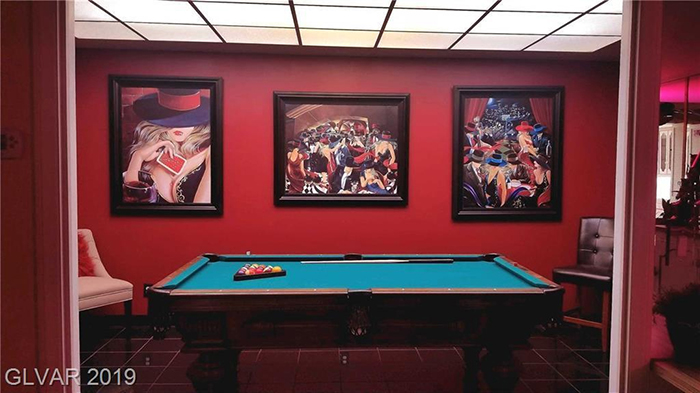 girard henderson bunker home pool table