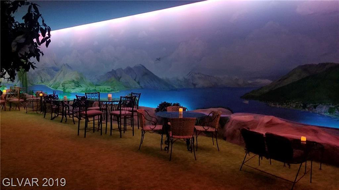 girard henderson bunker illuminated wall