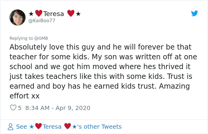 grimsby heroic teacher comment teresa