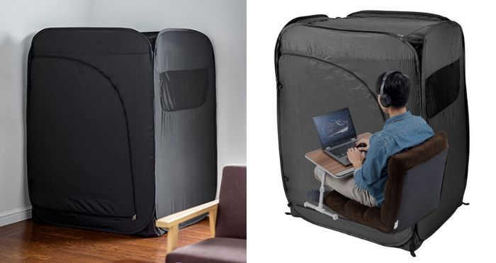 indoor tent office