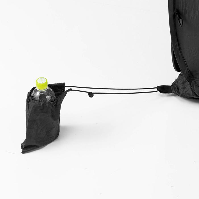 indoor tent office bottle pocket