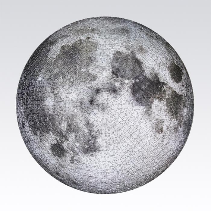 jigsaw circular moon puzzle