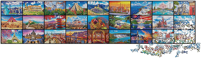kodak 51300-piece puzzle largest in the world