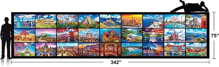 kodak 51300-piece puzzle