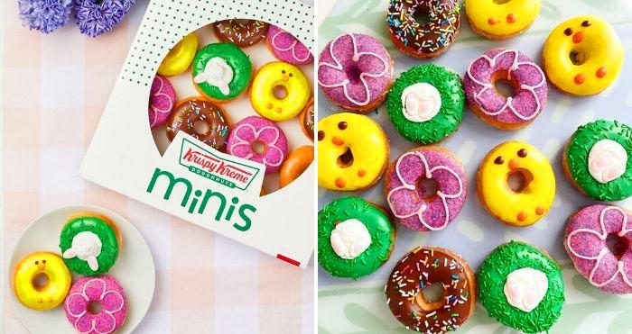 krispy kreme Spring Mini Donuts