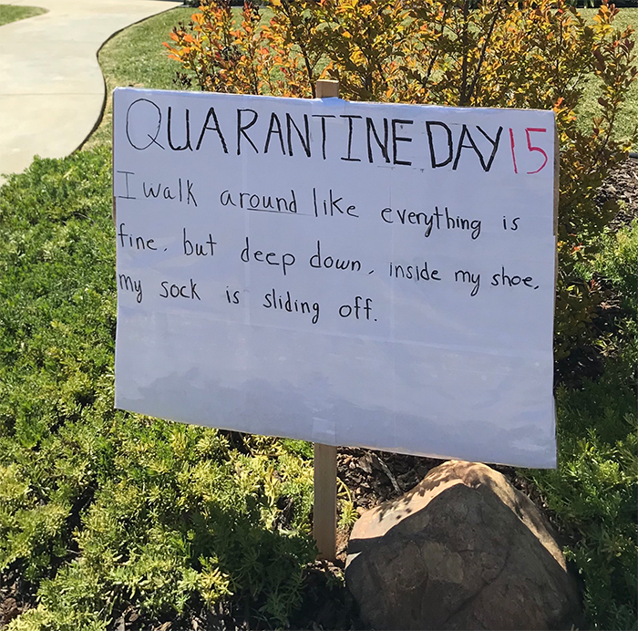 la neighbor dad jokes quarantine day 15
