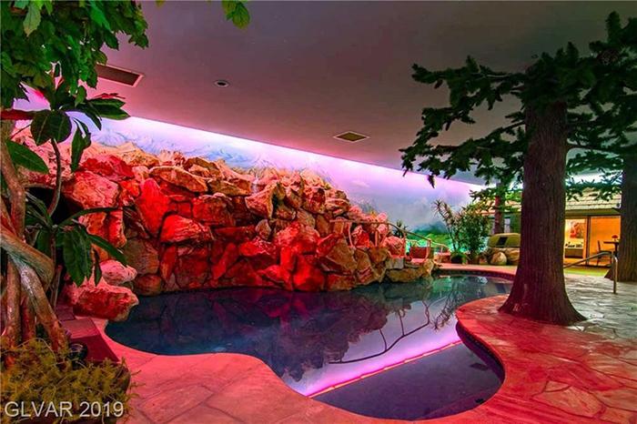 las vegas underground bomb shelter pool